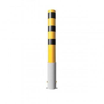 Stahlrohrpoller Ø 152 x 3,2 mm herausnehmbar ohne Verschluss Werkschutz