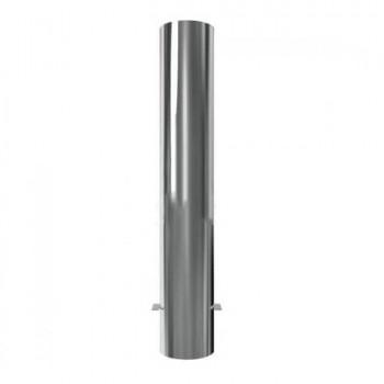 Edelstahlpoller Ø 154 mm, mit Flachkopf