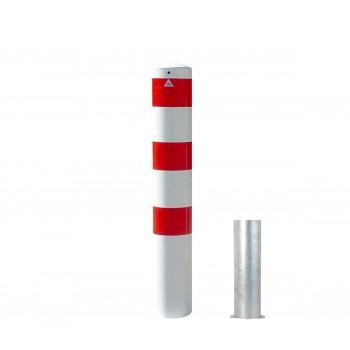 Stahlrohrpoller Ø 193 mm herausnehmbar ohne Verschluss Absperrpfosten