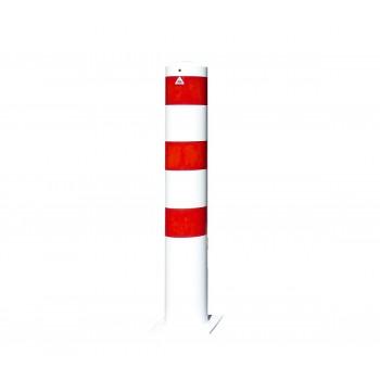 Stahlrohrpoller Ø 193 mm für Dübelbefestigung Absperrpfosten