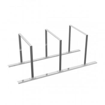 Fahrradständer Anlehnbügel 50 x 12 mm Flachstahl  für Dübelbefestigung