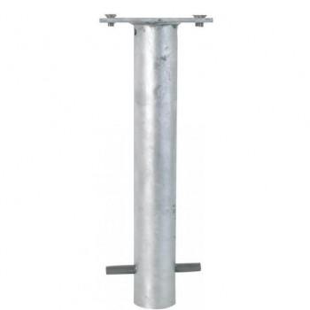 Bodenhülse mit Befestigungsplatte 100x150 mm