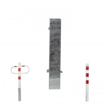 Bodenhülse für abschließbare Pfosten 70 x 70 mm