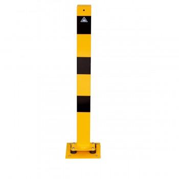 Absperrpfosten Anfahrsicher – Neigbar-70 x 70 mm