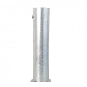 Bodenhülse für abschließbare Rundpfosten 76 mm  Durchmesser